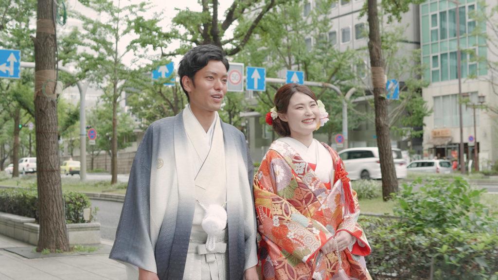 御堂会館仏前結婚式PVキャスティング